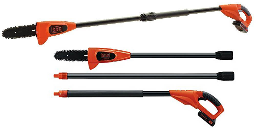 BLACK+DECKER LPP120 20-Volt Lithium Ion Cordless Pole Saw