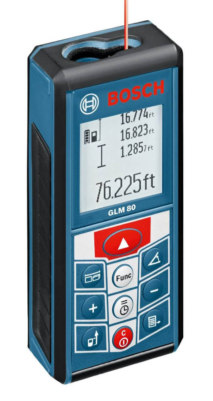 Bosch GLM 80 265-Feet Lithium-Ion Laser Distance Measurer