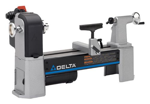 Delta Industrial 46-460 12.5 Inch Variable-Speed Midi Lathe