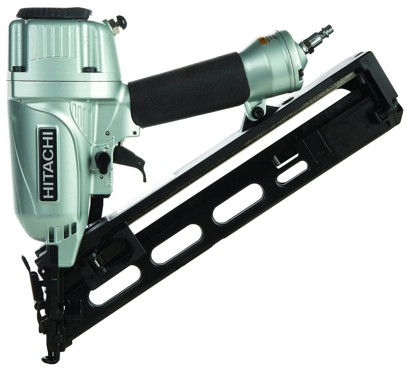 Hitachi NT65MA4 15-Gauge Angled Finish Nailer with Air Duster