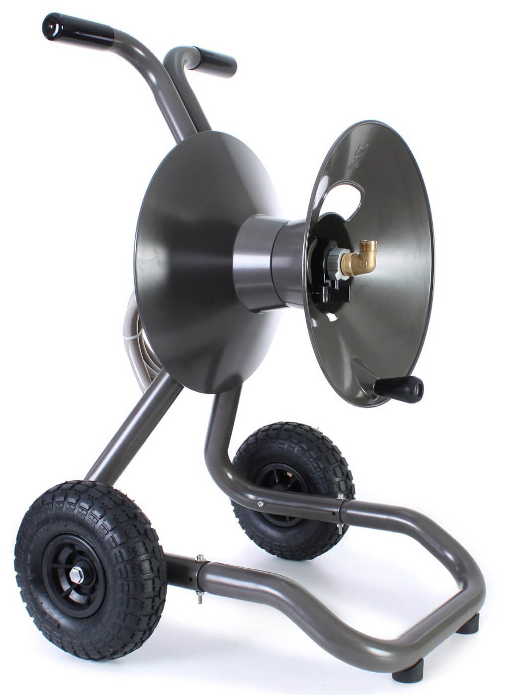 Rapid Reel Two Wheel Garden Hose Reel Cart Model