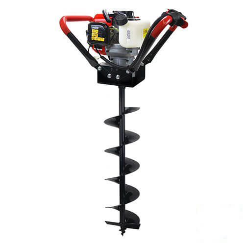 XtremepowerUS V-Type 55CC 2 Stroke Gas Post Hole Digger