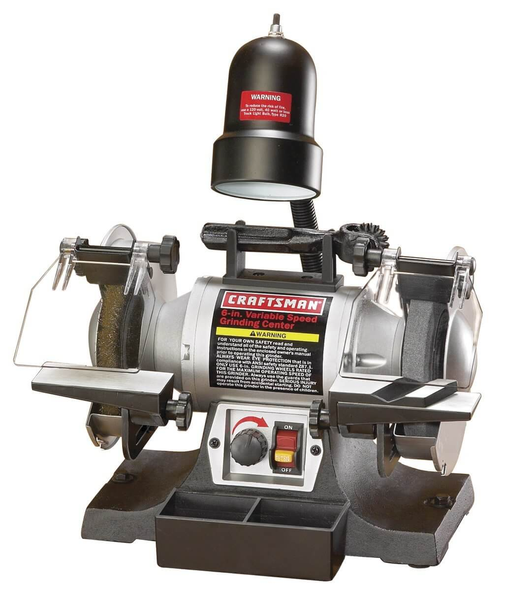 Craftsman 9-21154 Variable Speed 6-Inch Grinding Center