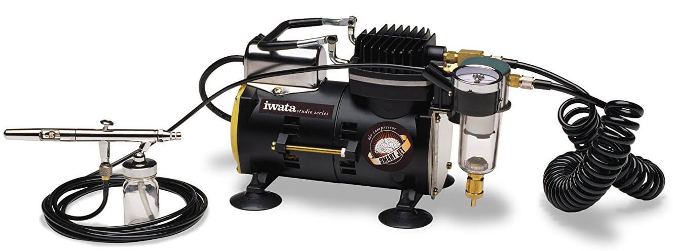 Iwata-Medea Studio Series Smart Jet Single Piston Air Compressor
