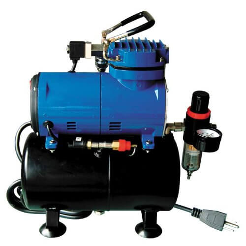 Paasche D3000R 1/8 HP Compressor with Tank