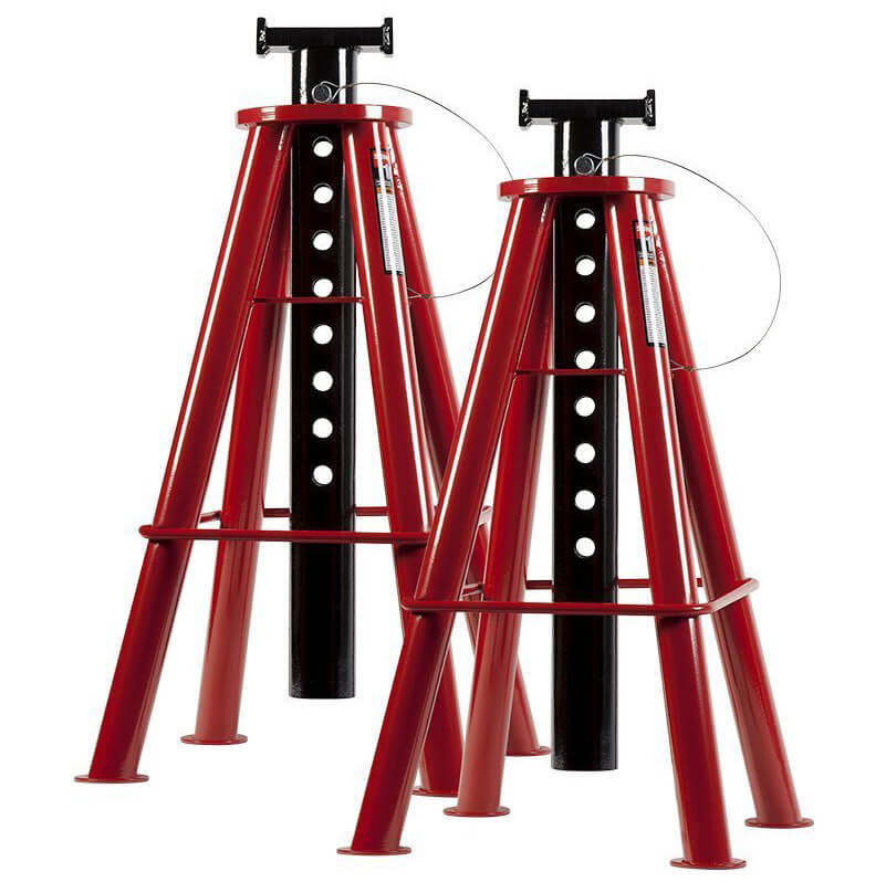 Sunex 1410 10-Ton High Height Pin Type Jack Stands