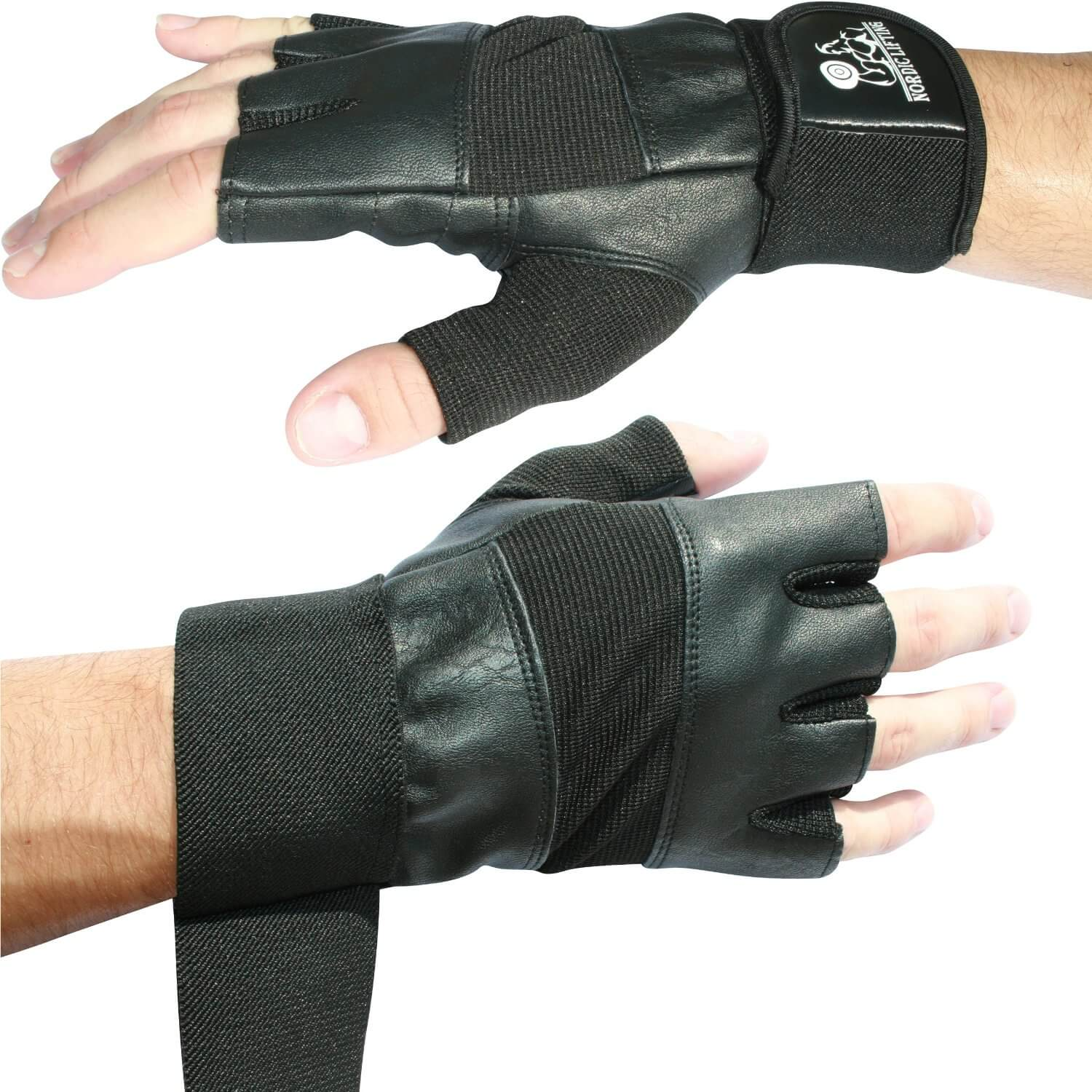 Nordict Lifting Weight Lifting Gloves with 12
