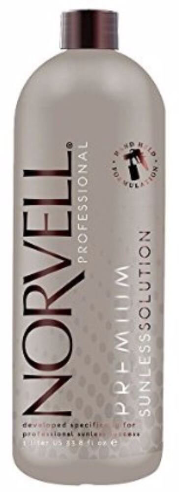 Norvell Dark Premium Sunless Solution - Liter or 33.8 oz