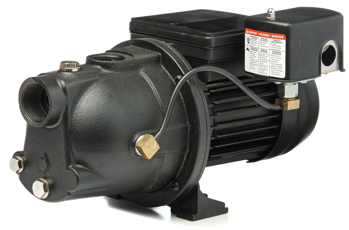 Best Shallow Well Pump Reviews And Buying Guide Phase Water Problems Red Lion Pwjet50 Jet