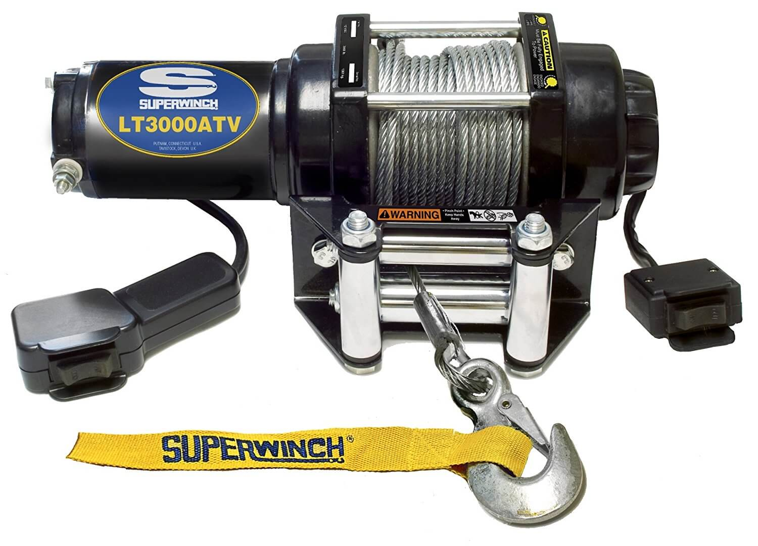 Superwinch 1130220 LT3000ATV 12 VDC winch