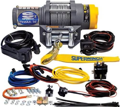 Superwinch 1135220 Terra 35 3500lbs/1591kg Single Line Pull