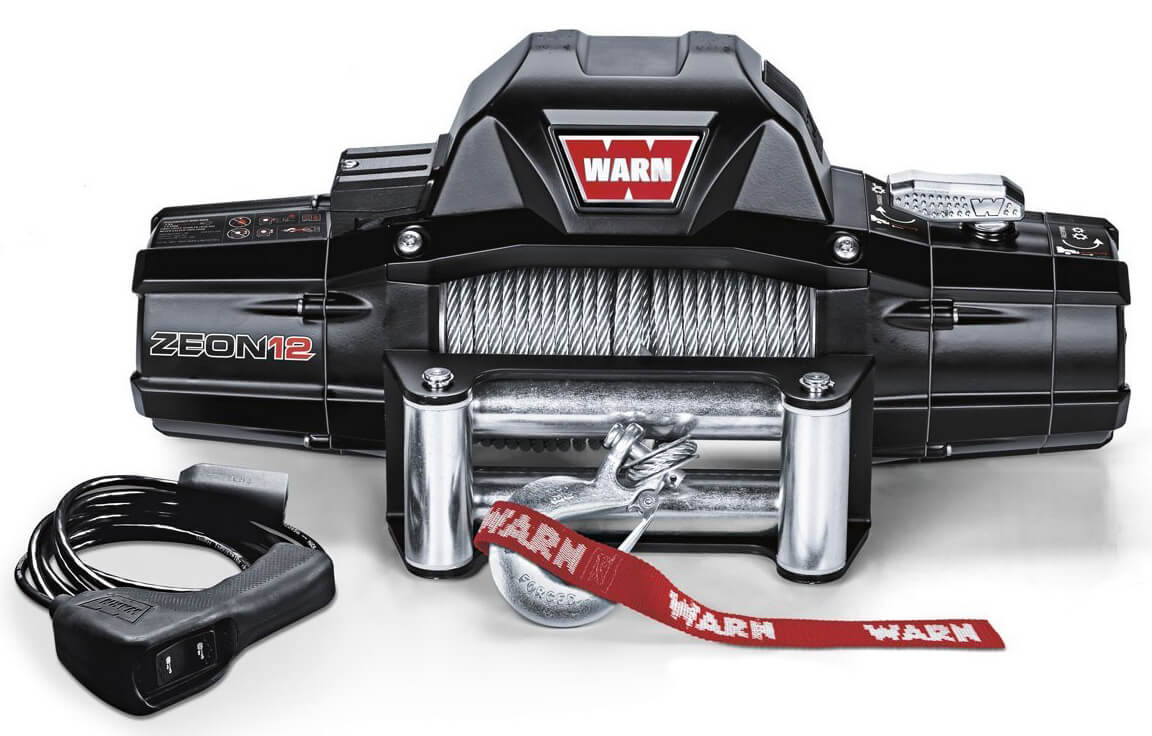 Warn 89120 ZEON 12 Winch with Wire Rope