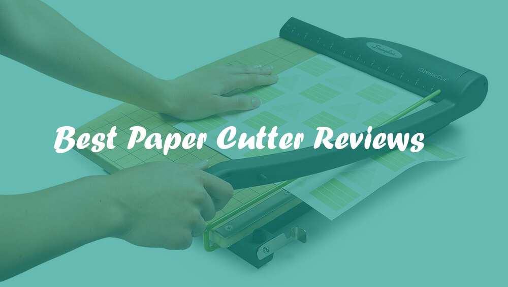 best paper cutter What is a paper cutter guillotine paper cutters – the three paper cutters we covered earlier all fit into this category you'll likely come across more of the.