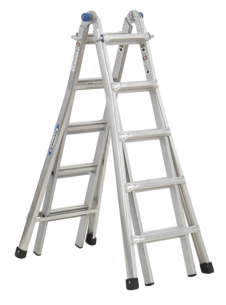 Werner MT-22 300-Pound Duty Rating Telescoping Multi-Ladder, 22-Foot